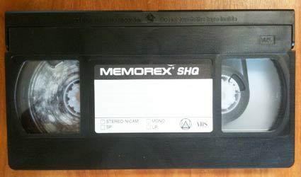 Cassette VHS moisie