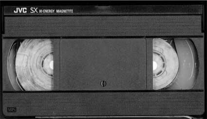 Cassette VHS moisie 2